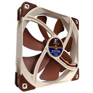 Noctua NF-A14 PWM 140x140x25mm 300-1500 U/min 24 dB(A) braun/beige