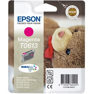 Epson Tinte T0613 C13T06134020 magenta