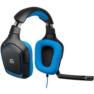 Logitech G430 schwarz/blau