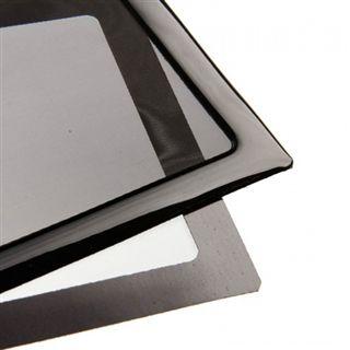 DEMCiflex 240mm schwarz Staubfilter für Radiator (2x120mm Square