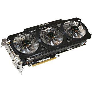 2GB Gigabyte GeForce GTX 760 WindForce 3X OC Rev. 2 Aktiv PCIe 3.0
