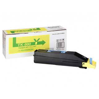 Kyocera TK-880Y Toner Kit YELLOW