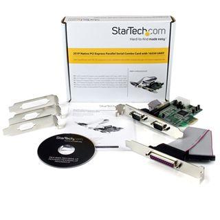 Startech PEX2S5531P 2 Port PCIe x1 zweites Slotblech retail