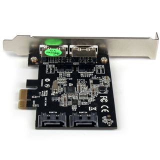 Startech 2 Port PCI Express SATA 3 Schnittstellenkarte 2 Port PCIe x1