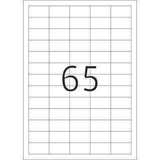 Herma 10913 extrem strak haftend Universal-Etiketten 3.81x2.12 cm (25