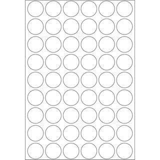 Herma 2240 rund Vielzwecketiketten 1.6x1.6 cm (32 Blatt (1728