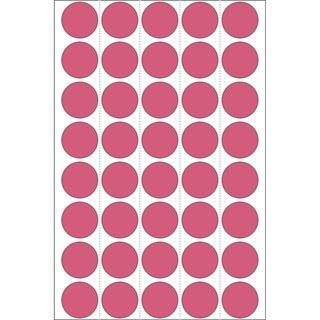 Herma 2256 leuchtrot Vielzwecketiketten 1.9x1.9 cm (24 Blatt (960