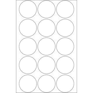 Herma 2270 rund Vielzwecketiketten 3.2x3.2 cm (32 Blatt (480