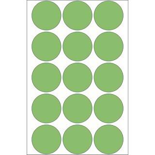 Herma 2275 gruen Vielzwecketiketten 3.2x3.2 cm (32 Blatt (480