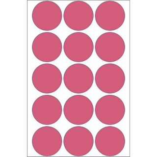 Herma 2276 rot rund Vielzwecketiketten 3.2x3.2 cm (24 Blatt (360
