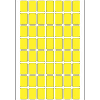 Herma 2341 gelb Vielzwecketiketten 1.2x1.8 cm (32 Blatt (1792