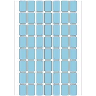 Herma 2343 blau Vielzwecketiketten 1.2x1.8 cm (32 Blatt (1792