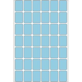 Herma 2383 blau Vielzwecketiketten 1.6x2.2 cm (32 Blatt (1344