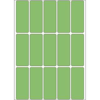 Herma 2415 gruen Vielzwecketiketten 2x5 cm (32 Blatt (480 Etiketten))
