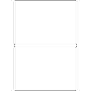 Herma 2570 Vielzwecketiketten 7.4x10.5 cm (32 Blatt (64 Etiketten))