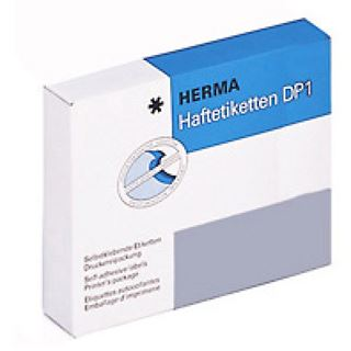 Herma 3032 Haftetiketten DP 1 3.4x5.3 cm (335 Blatt (2500 Etiketten))