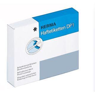 Herma 3100 rund Haftetiketten DP 1 4x4 cm (128 Blatt (1000 Etiketten))