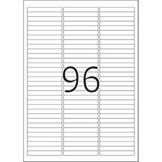 Herma 4202 ablösbar Universal-Etiketten 6.35x8.5 cm (25 Blatt