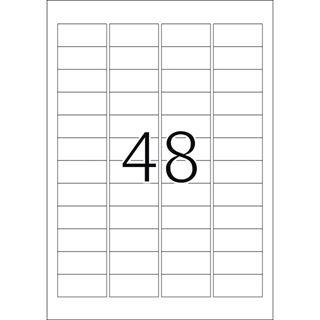 Herma 4232 Sicherheitsetiketten 4.57x2.12 cm (25 Blatt (1200