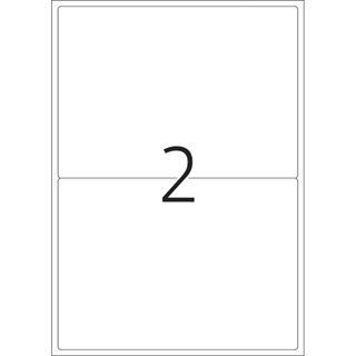 Herma Adressetiketten A4 weiß 199,6x143,5 mm Papier 200 St.