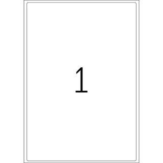 Herma 4252 Premium Adressetiketten 19.96x28.91 cm (100 Blatt (100