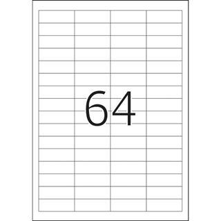 Herma 4271 Premium Universal-Etiketten 4.83x1.69 cm (100 Blatt (6400