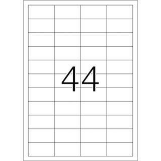 Herma 4727 Premium Universal-Etiketten 4.83x2.54 cm (100 Blatt