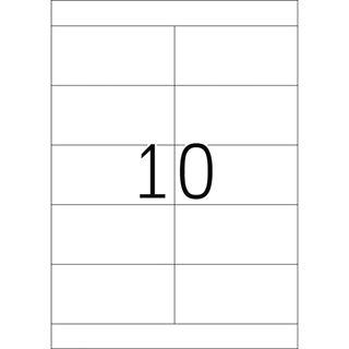 Herma 4281 Premium Universal-Etiketten 10.5x5.08 cm (100 Blatt (1000