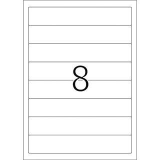 Herma 4290 blickdicht Ordneretiketten 19.2x3.4 cm (100 Blatt (800