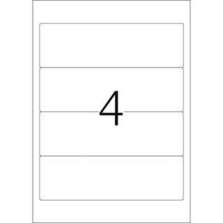 Herma 4291 Ordneretiketten 19.2x5.9 cm (100 Blatt (400 Etiketten))
