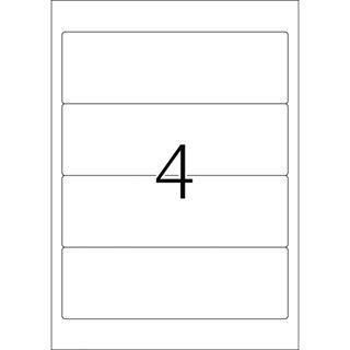Herma 4296 blickdicht gelb Ordneretiketten 19.2x6.1 cm (100 Blatt