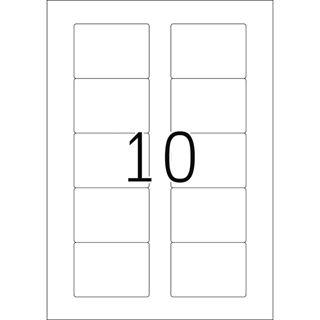 Herma 4353 Disketten-Etiketten 7.0x5.8 cm (25 Blatt ( 250 Etiketten))
