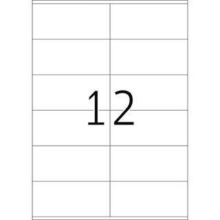 Herma 4363 Premium Universal-Etiketten 10.5x4.8 cm (25 Blatt (300