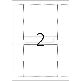 Herma 4373 CD-Cover Etiketten 12.5x11.75 cm (25 Blatt (50 Etiketten))