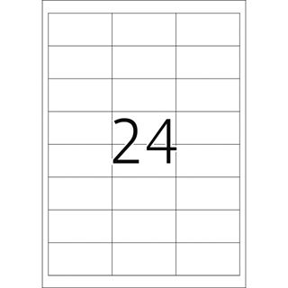Herma 4389 Tiefkühletiketten 6.6x3.38 cm (25 Blatt (600