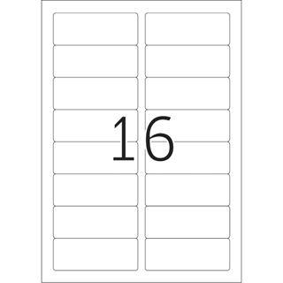 Herma 4420 ablösbar Acetatseide Namensetiketten 8.89x3.38 cm (25