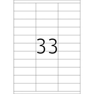 Herma 4455 Premium Universal-Etiketten 7x2.54 cm (100 Blatt (3300