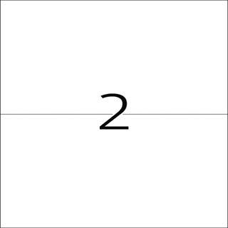 Herma 4683 Folie Transparent-Etiketten 14.8x21 cm (25 Blatt (50