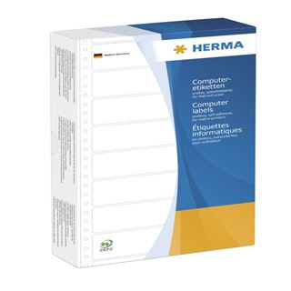 Herma 8073 gelb Computeretiketten 14.7x99.2 cm (1000 Stück)
