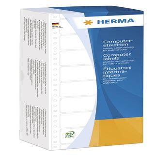 Herma 8228 weiß Computeretiketten 3.81x10.3 cm (24000