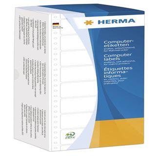 Herma Computeretiketten weiß 50,8x23 mm Papier 12000 St.