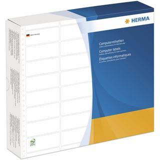 Herma 8232 weiß Computeretiketten 10.16x3.57 cm (12000