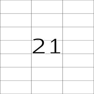 Herma 8634 Premium Universal-Etiketten 7.0x4.23 cm (10 Blatt (210