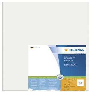 Herma 8692 Premium A3-Etiketten 29,7x42,0 cm (100 Blatt (100