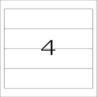 Herma 10141 ablösbar blickdicht Ordneretiketten 19.2x6.1 cm (100