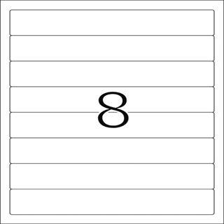 Herma 10150 ablösbar blickdicht Ordneretiketten 19.2x3.4 cm (25