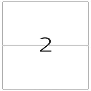 Herma 10314 ablösbar Universal-Etiketten 19.96x14.35 cm (100