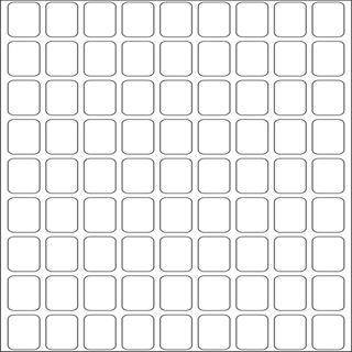 Herma 10602 ablösbar Vielzwecketiketten 1x1.6 cm (32 Blatt (2592