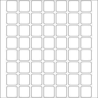 Herma 10603 ablösbar Vielzwecketiketten 1.2x1.8 cm (32 Blatt