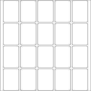 Herma 10609 ablösbar Vielzwecketiketten 1.9x4 cm (32 Blatt (640